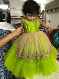Call or whatsapp 8288944518 to order this beautiful Little gown Customizations available. Kids Party Wear Dresses, Kids Dress Wear, Baby Girl Party Dresses, Kids Gown, Dresses Kids Girl, Dress Party, Kids Wear, Girls Frock Design, Kids Frocks Design