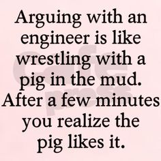 Arguing engineer T-Shirt on CafePress.com
