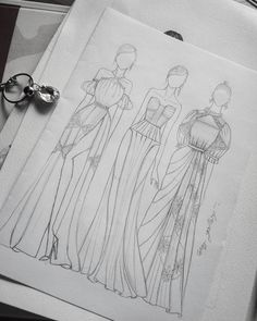 10 Fashion Design For Beginners Sewing Ideas Fashion Sketch Template, Fashion Figure Templates, Fashion Model Sketch, Fashion Design Template, Fashion Sketches, Fashion Illustration Tutorial, Fashion Drawing Tutorial, Fashion Figure Drawing, Fashion Illustration Dresses
