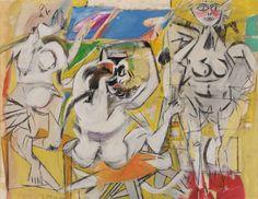 Willem De Kooning | Willem de Kooning, Untitled (Three Woman), 1948