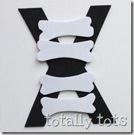 Letter X xray