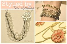 Styled by Tori Spelling Jewelry