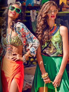 loving the eclectic look