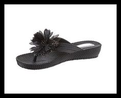 Black Summer Sandals Summer Sandals, Pool Slides, Clothing, Shoes, Black, Fashion, Outfits, Moda, Clothes
