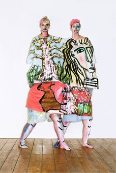 Luke Brooks and Beth Postle have launched a pop up at The Hackney Shop: http://www.dazeddigital.com/fashion/article/20844/1/two-csm-alumni-have-just-launched-a-pop-up-store