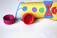 Clown aus Klopapierrollen selber basteln   DekoKing Clowns, Sunglasses Case, Crafts For Kids, Toys, Crochet, Craft Ideas, Paper Crafts For Kids, Activity Toys, Photo Galleries