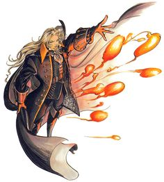 Alucard & Fire Balls - Castlevania: Symphony of the Night