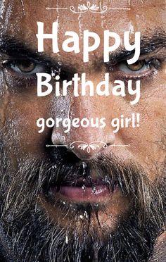 Happy Birthday Jason Momoa Birthday Card Happy Birthday Card Game Of Thrones Birthday Card