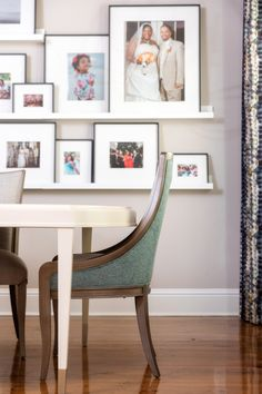 Arianne Bellizaire Interiors transformed a client's empty house into a warm, inviting, colorful oasis. Dining Decor, Dining Table Chairs, Dining Room Design, Beautiful Interior Design, Interior Design Inspiration, Interior Design Photography, New Orleans Homes, Inspirational Wall Art, Wall Colors