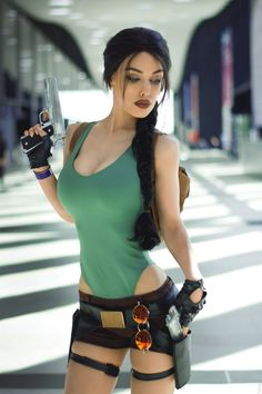 Lara Croft from Tomb Raider by Freia Raven @ instagram.com/freiaraven - More at https://pinterest.com/supergirlsart #freiaraven #hot #sexy #cosplay #girl #cosplaygirl #laracroft #tombraider