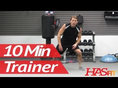 10 Minute Trainer Workouts To Lose Belly Fat Fast! Part 2 of 3 At Home Workout to Lose Weight HASfit - YouTube