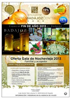 Badajoz Center. 20% Descuento en Gala Nochevieja (con cotillón) ultimo minuto - http://zocotours.com/badajoz-center-20-descuento-en-gala-nochevieja-con-cotillon-ultimo-minuto-4/