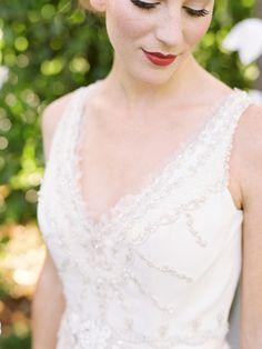 Romantic White Hued Wedding Inspiration: http://www.stylemepretty.com/california-weddings/santa-barbara/2015/10/20/romantic-white-hued-wedding-inspiration/   Photography: Linda Chaja - http://www.lindachaja.com/