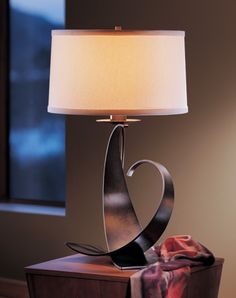 Hubbardton Forge Calla, Fullered Impressions, Gallery Spiral, Gallery Single Twist & Twofold Collections - Brand Lighting Discount Lighting - Call Brand Lighting Sales 800-585-1285 to ask for your best price! Hubbardton Forge 272678 Large Fullered Impressions Table Lamp