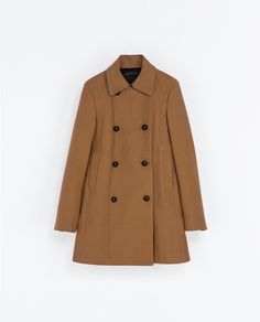 ZARA - WOMAN - DOUBLE-BREASTED COAT