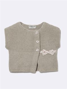 BABY-LIBERTY®-CARDIGAN IN WICKEL-OPTIK LIBERTY JENNY+LIBERTY CLAIRE