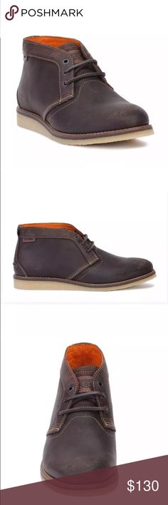 1883 by Wolverine Mens Julian Plain Chukka Boot Dark Brown Size: 8M New with box Wolverine Shoes Chukka Boots