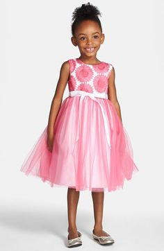 88d520eb442e Halabaloo Pink Tulle Hi Lo Party Dress w Butterfly Bodice