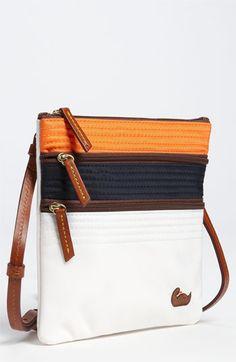 Dooney & Bourke Triple Zip Crossbody Bag available at Nordstrom