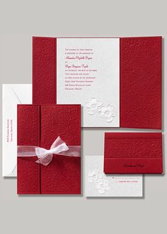Snow White Invitation - Apple Blossoms