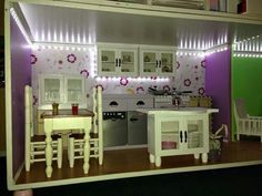 American girl dollhouse kitchen