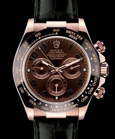Rolex Oyster Perpetual Cosmograph Daytona – 40 mm case in Everose Gold