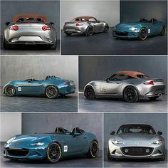 Miata speedster and spyder #SEMA | #TopMiata #mazda #miata #mx5 #eunos #roadster #ndmx5 #ndmiata #2016miata #speedster #spyder #miataspyder #sema2015 #semalasvegas