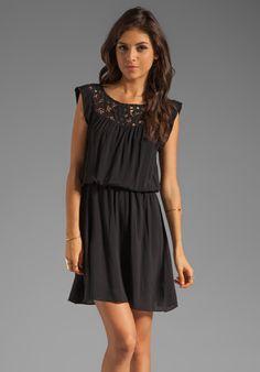 Ella Moss Josephina Dress in Black