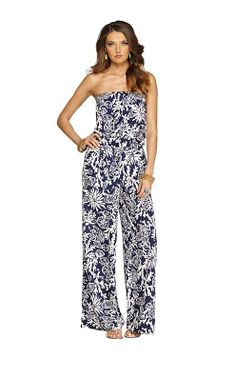 Lilly Pulitzer Resort '13- Farrah Jumpsuit in Bright Navy In The Groove. Perfect HONEYMOON clothes!!!