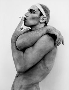 Arnold Schwarzenegger by Herb Ritts