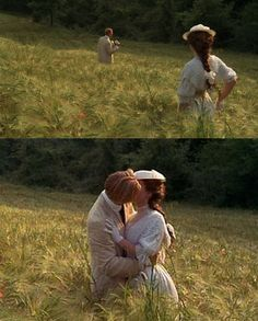 One of the best kisses in film.  Room With a View.