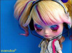 Nanuka -Custom  Blythe