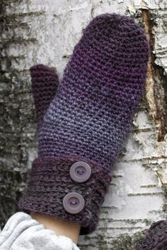 Virkatut lapaset Novita Usva | Novita knits