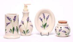 Ceramic Bathroom Set - 9 Pattern Options