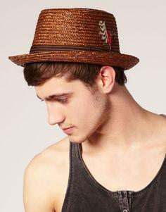 Brixton Hats Drifter Straw Porkpie Fedora Cool Hats 9c446523050b