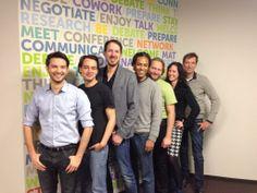 Das bettervest Team in unserem derzeitigen Büro bei MeetnWork