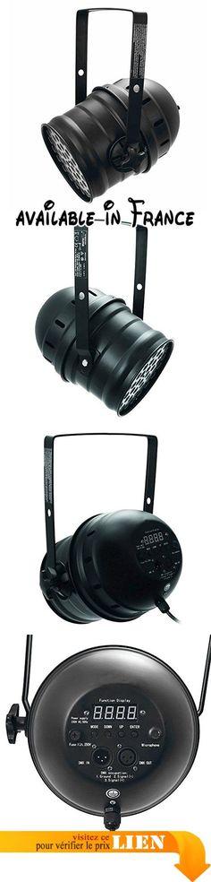 Eurolite 060433 LED PAR-64 RGBAW 49 x 3 W Noir. Puissant LED PAR-64 place avec 3 W LED de 5 couleurs. Utilisable en mode autonome ou via l'interface DMX. commande possible via n'importe quel contrôleur DMX commerciale DMX512 (occupe 7 canaux). Contrôlé par le son microphone intégré. microphone réglable sensibilité par carte de contrôle #Musical Instruments #SOUND_AND_RECORDING_EQUIPMENT