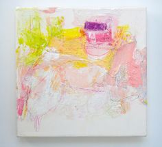 Mayako Nakamura, Japan, Sangatsu no mimitabu, 2011, Oil on canvas, pigment, coloured pencil