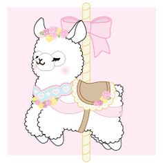 Green closed eyed alpaca charm ($8 preorder price)--light purple strap or light pink adjusted shipping as discussed ($6.50)