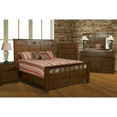 Thoroughly Charming The Sante 5 Piece Bedroom Set By Sunny Designs Is Traditional With Modern