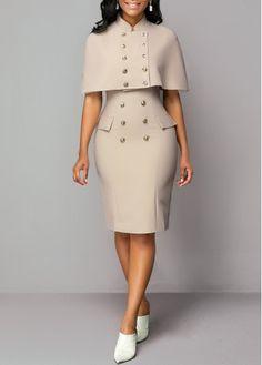 Cap Dress, Slit Dress, Bodycon Dress, Panel Dress, Look Fashion, Fashion Outfits, Womens Fashion, Fashion Clothes, Fashion Drug
