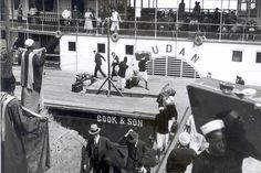 Sudan-1933. 1911-1921 Cook builds a new fleet of faster steam ships, composed of the Egypt, the Arabia, and the Sudan. They reduce the length of a Cairo-Aswan voyage to 20 days, and eager tourists flock on board.