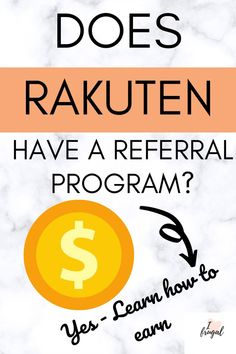 Are you wondering if Rakuten has a referral program? The answer is yes, Rakuten can make you money by referring friends and family. Learn how to use the referral program for ebates/Rakuten and how you can earn money as a blogger or non-blogger. It is fast, easy money. #raktuen #makemoney I Heart Frugal HTMMO