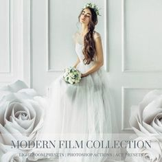Modern film lightroom presets, photoshop actions and acr presets