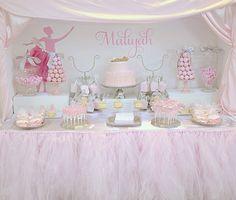 Feminine Pink Ballerina Baby Shower - Project Nursery