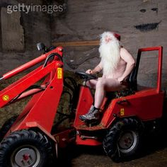 Santa is very busy this time of year.