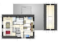 Modern landelijke villa met bijgebouw - 1e verdieping