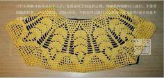 Blusa em crochet modelo Leaves.   Feita com Fio Anne da Círculo e agulha 1,75mm   Vamos crochetar??                          ...