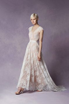 Boho lace wedding dress from Tatyana Merenyuk wedding dresses 2016 - see the rest of the collection on www.onefabday.com