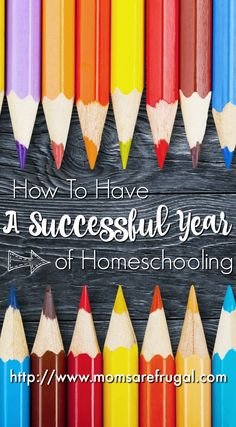 A successful year of homeschooling comes from having a plan and researching the best way to educate your kids. Homeschool ideas from others' help.